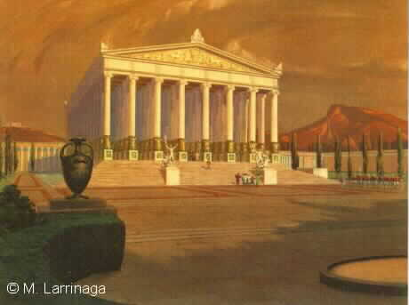 The Temple of Artemis at Epheseus