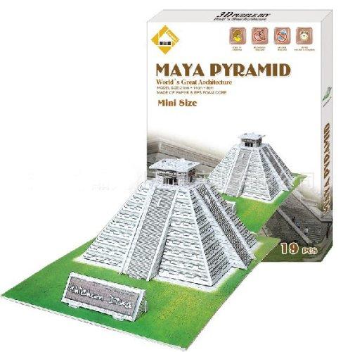Mayan Temple Jigsaw Puzzle
