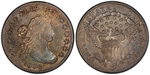 U.S. 10-cent Dime 1802 Coin