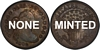 U.S. 10-cent Dime 1818 Coin