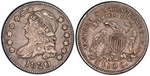 U.S. 10-cent Dime 1820 Coin