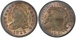 U.S. 10-cent Dime 1823 Coin