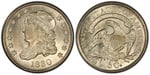 U.S. 10-cent Dime 1830 Coin