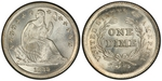 U.S. 10-cent Dime 1839 Coin