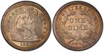 U.S. 10-cent Dime 1841 Coin