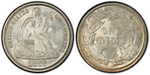 U.S. 10-cent Dime 1877 Coin