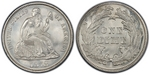 U.S. 10-cent Dime 1878 Coin