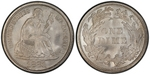 U.S. 10-cent Dime 1881 Coin