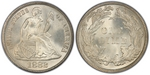 U.S. 10-cent Dime 1882 Coin