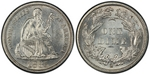 U.S. 10-cent Dime 1885 Coin