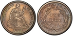 U.S. 10-cent Dime 1887 Coin