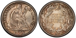 U.S. 10-cent Dime 1889 Coin