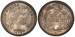 U.S. 10-cent Dime 1896 Coin