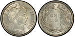 U.S. 10-cent Dime 1898 Coin