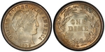 U.S. 10-cent Dime 1899 Coin