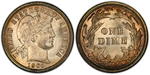 U.S. 10-cent Dime 1901 Coin