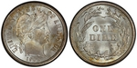 U.S. 10-cent Dime 1909 Coin