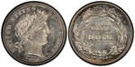 U.S. 10-cent Dime 1910 Coin