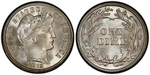 U.S. 10-cent Dime 1912 Coin