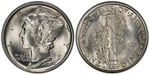 U.S. 10-cent Dime 1918 Coin