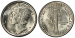 U.S. 10-cent Dime 1919 Coin