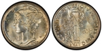 U.S. 10-cent Dime 1923 Coin