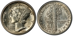 U.S. 10-cent Dime 1924 Coin
