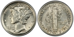 U.S. 10-cent Dime 1925 Coin