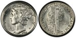 U.S. 10-cent Dime 1926 Coin