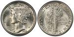 U.S. 10-cent Dime 1928 Coin