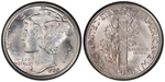 U.S. 10-cent Dime 1930 Coin