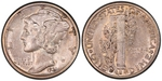 U.S. 10-cent Dime 1931 Coin