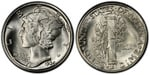U.S. 10-cent Dime 1934 Coin