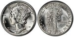 U.S. 10-cent Dime 1939 Coin