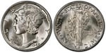 U.S. 10-cent Dime 1940 Coin