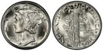 U.S. 10-cent Dime 1944 Coin