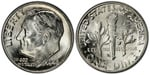 U.S. 10-cent Dime 1948 Coin
