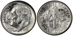 U.S. 10-cent Dime 1955 Coin