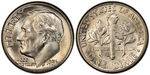U.S. 10-cent Dime 1956 Coin