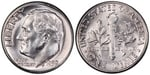 U.S. 10-cent Dime 1959 Coin