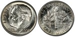 U.S. 10-cent Dime 1962 Coin