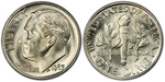 U.S. 10-cent Dime 1963 Coin