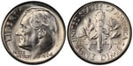 U.S. 10-cent Dime 1964 Coin