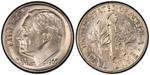 U.S. 10-cent Dime 1965 Coin