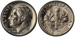 U.S. 10-cent Dime 1968 Coin