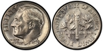 U.S. 10-cent Dime 1970 Coin