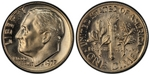 U.S. 10-cent Dime 1972 Coin