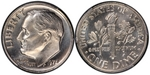 U.S. 10-cent Dime 1973 Coin