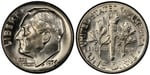 U.S. 10-cent Dime 1974 Coin
