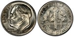 U.S. 10-cent Dime 1977 Coin